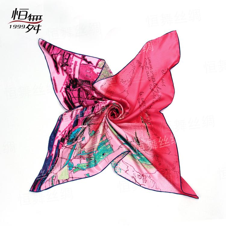 桑蚕丝丝巾,你身边的时尚伴侣