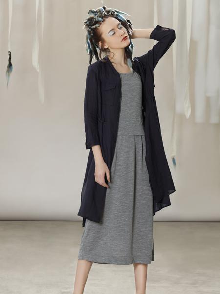 约布黑色时尚修身连衣裙
