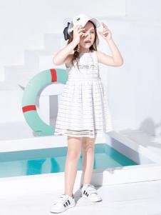 铅笔俱乐部女童夏季连衣裙
