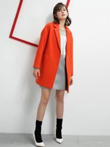 UZZU优组女装西装领外套
