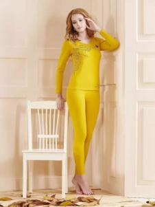樱乃儿内衣黄色套装