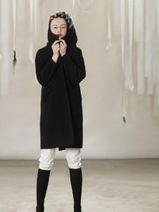 约布时尚黑色连衣裙新款