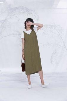 述忘女装2017夏季新品连衣裙