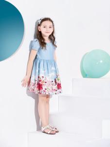 铅笔俱乐部时尚蓝色连衣裙