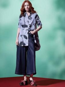 缘尚儿女装2017春夏新品衬衫