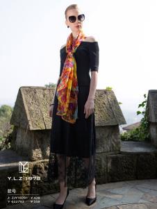 YLZ1978黑色连衣裙