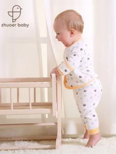 卓儿婴童装双面布长袖和袍套装