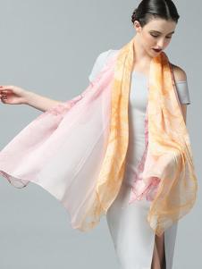 ZEAPO紫宝长款丝巾