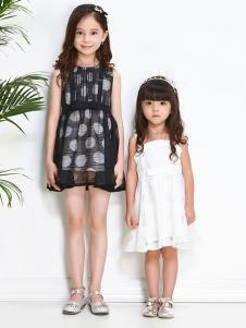 sognikids卓维乐2017春夏装新品黑白裙装
