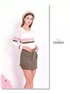 Z'DORZI卓多姿2017春夏新品半裙