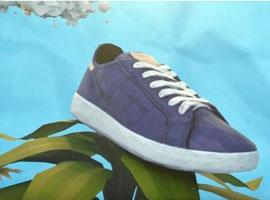 锐步用棉花玉米做运动鞋 谁敢说它不环保?