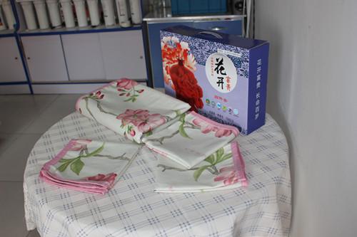 五粮液模式礼品花开富贵四件套剑南春礼品厂家赠送礼品花开富贵四件套