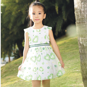 吉象贝儿童装夏日新款 回归大自然的本真设计
