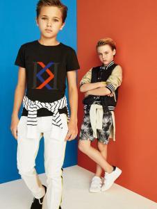 IKKI(安娜与艾伦)2017春夏新品T恤