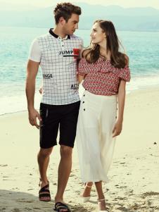 莎斯莱思夏季男装新款T恤