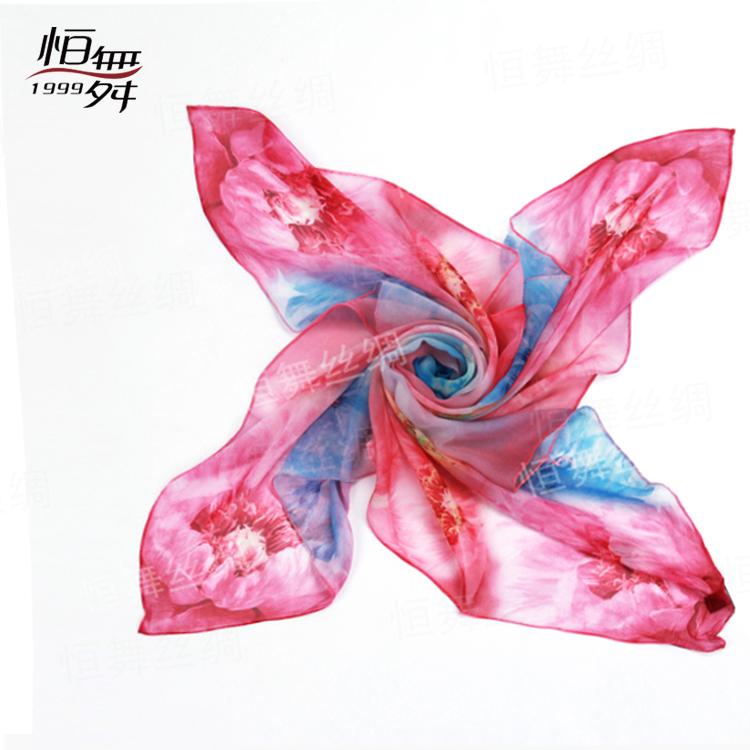 网购热潮带来丝巾生产厂家批发新模式