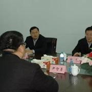 建湖县委书记陈平一行领导莅临长园和鹰考察指导