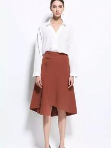 HelenModa女装2017春夏新品白衬衫