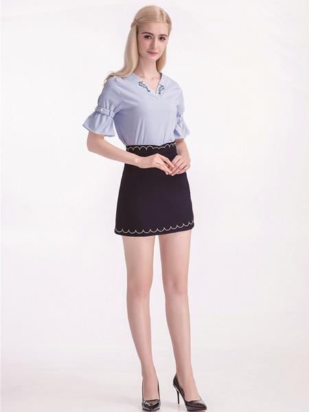 淑女日记夏装短裙