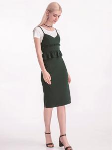 淑女日记夏装连衣裙