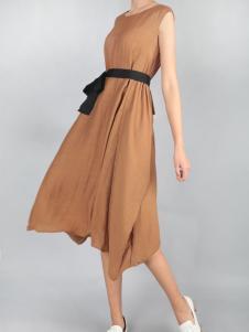 零时尚买手品牌17新款文艺连衣裙