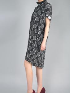 零时尚复古风连衣裙17夏款