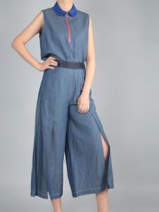 零时尚设计师风格套装夏款