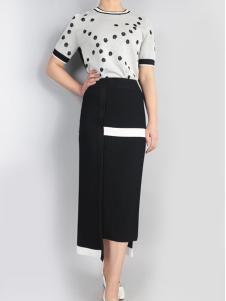 零时尚17新款时尚半裙