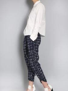 零时尚买手品牌女装17白色衬衫