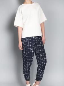 零时尚买手品牌女装17夏白色T恤
