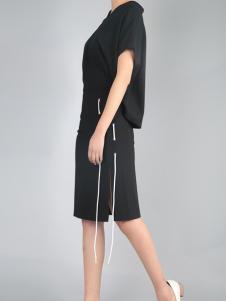 零时尚买手品牌女装17黑色外套
