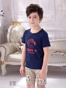 泰迪珍藏男童T恤