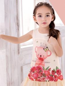 泰迪珍藏印花裙