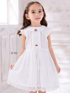 泰迪珍藏白色连衣裙