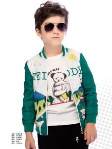 泰迪珍藏男童外套