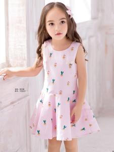 泰迪珍藏粉色连衣裙