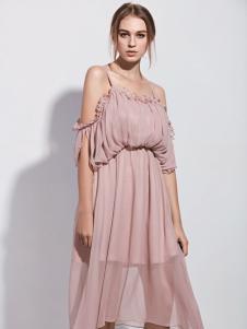 TRUGIRL楚阁新款吊带连衣裙