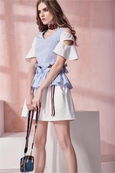 SWWVIA席薇亚2017夏装时尚套装