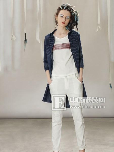 YUEBU演绎简约 打造时尚都市女性