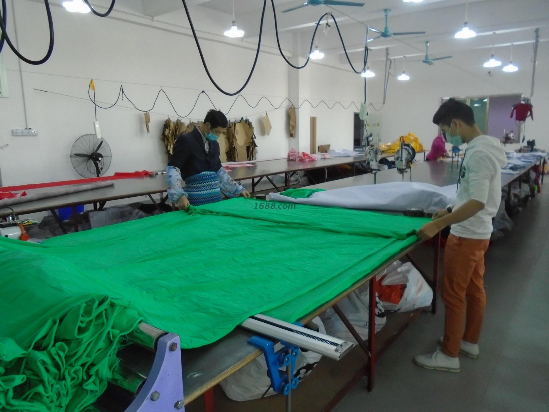 广州尚北服饰有限公司厂房实景