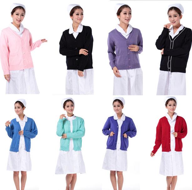 护士毛衣定做护士毛衣加工工作服毛衣定做厂家