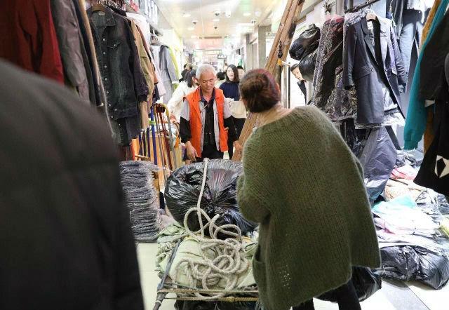 服装拉包工