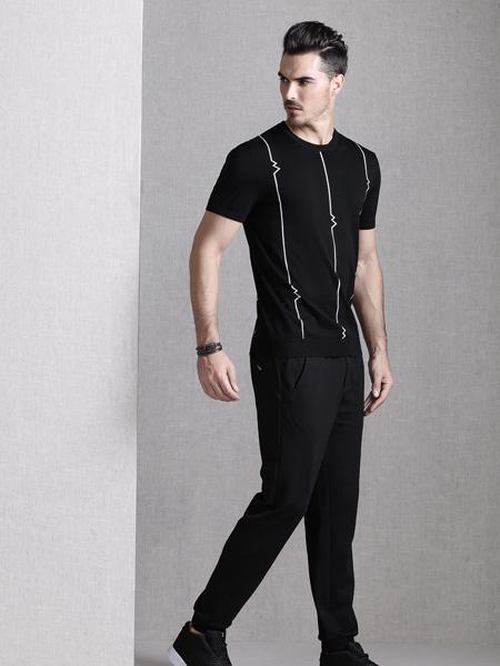 巴鲁特17夏新款黑色T恤