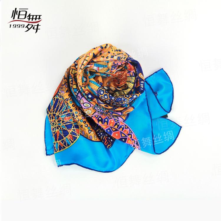 丝巾控们 你知道一条桑蚕丝丝巾的制作过程吗?