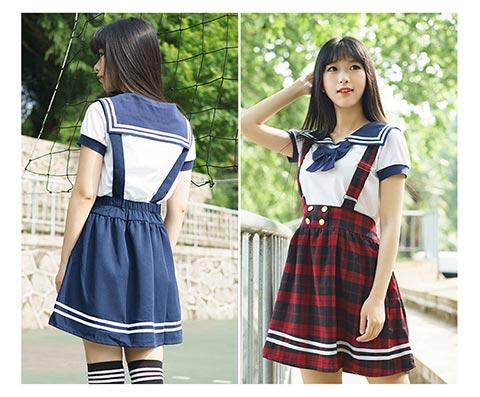 日韩校园服饰价格如何|想买抢手的学生日韩学院风水手服,就到加里服饰
