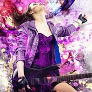 洛维缇女装摇曳时尚 危险得让人迷乱的摇滚风情是你报复平庸的方式