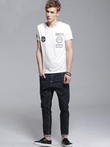 Legend Paul传奇保罗2017春夏新品白色T恤
