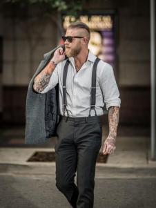 JACK SOUTH男装背带装