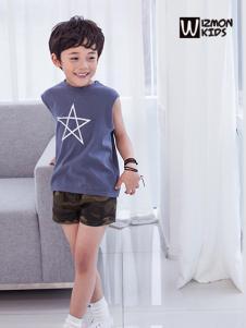 蓝角兽2017新款无袖T恤