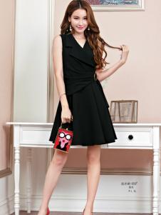 艾米女装黑色连衣裙